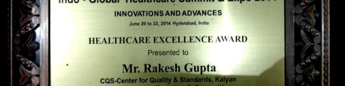 Recieved by governer for healthcare excellency in training and consulting 2015